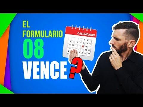 VENCIMIENTO ⌛ Del Formulario 08 🚗 [ TRANSFERENCIA AUTOMOTOR ]