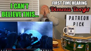Drum Teacher Reaction: DIMMU BORGIR 'Progenies Of The Great Apocalypse' FORCES OF THE NORTHERN NIGHT