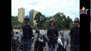 Entrenamiento del Comando Motorizado de la Policía Municipal de Cristóbal Rojas