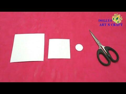 DIY Christmas Paper Ornaments - Easy & Quick Paper Angel | Last Minute Christmas Decoration Idea