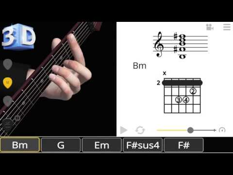 How to Save & Load Chords in Guitar 3D - Basic Chords v1.1.4