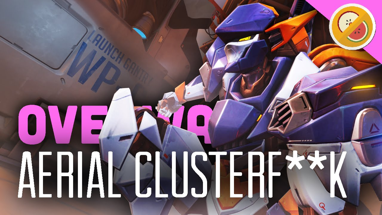 Aerial Clusterfk Weekly Brawl Overwatch Gameplay Funny Moments