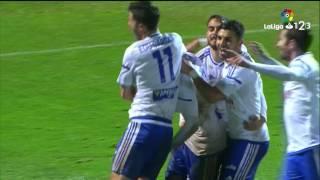 Resumen de SD Huesca vs Real Zaragoza (2-3)
