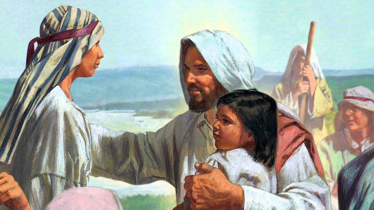Kapitel 41: Jesus segnet die Kinder - YouTube