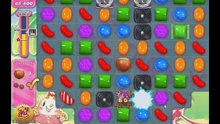 Candy Crush Level 635 - Chocolate x frog swap