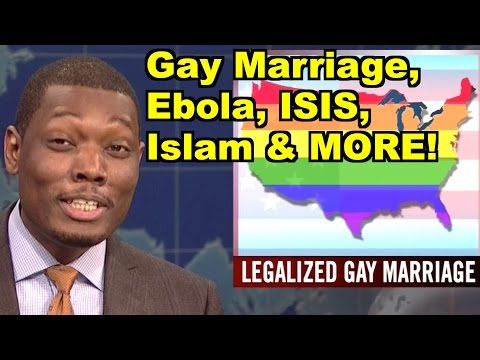 Ebola, Islam, Gay Marriage - Sam Harris, Michael Che & MORE! LiberalViewer Sunday Clip Round-Up 77