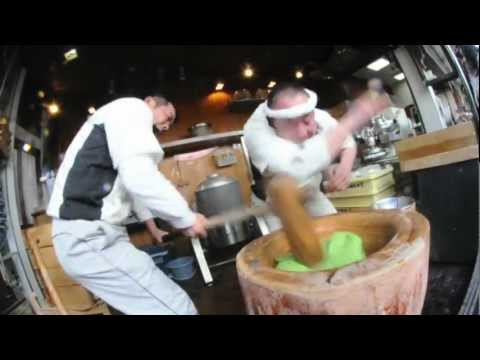 Fastest Mochi Making in Japan