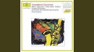 Dubois: Concerto for Alto Saxophone and String Orchestra - 1. Lento espressivo - Allegro