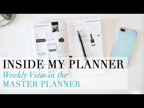 Inside My Planner | Weekly Planning in The Charmed Life Master Planner