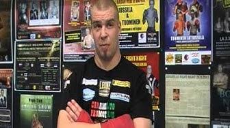 Janne Forsmanin haastattelu 2 viikkoa ennen Takaladon Boxing Nightia