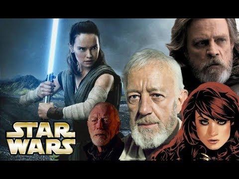 A Rey Theory that Ties the Skywalker/Kenobi/Mara Jade Bloodlines Together, via Lor San Tekka!