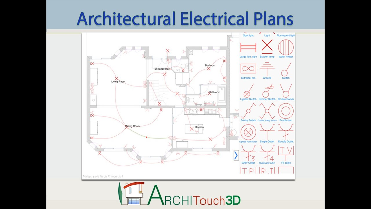 architouch3d for ipad architectural electrical plans. Black Bedroom Furniture Sets. Home Design Ideas