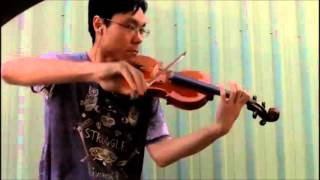 Trinity TCL Violin 2016-2019 Grade 1 B5 Wilson Ballad for a Rainy Day Performance
