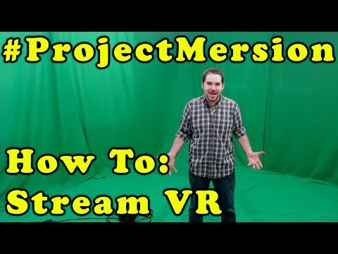 How I Record And Live Stream VR With The HTC Vive!