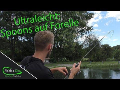 Ultraleicht: Fischen mit Spoons auf Forelle - Tutorial | Fishing-King.de