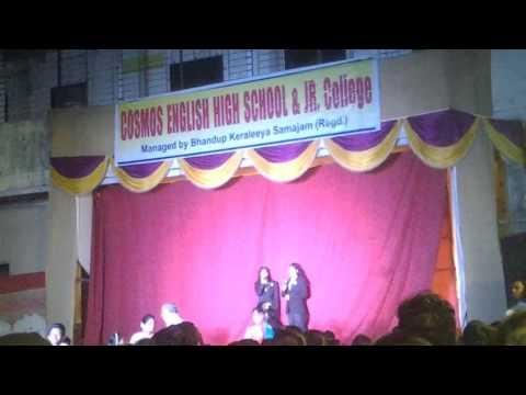 Cosmos English high School 20th Annual day Shruti & Sakshi hosts
