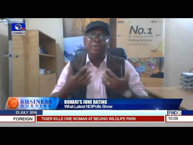 Buhari's June Rating  What Latest NOI Polls Show