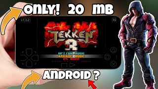 How To Download Tekken 3 For Android Highly Compressed