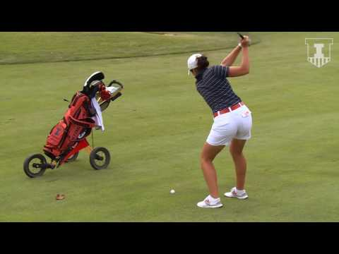 Illinois W Golf Senior Feature  Stephanie Miller
