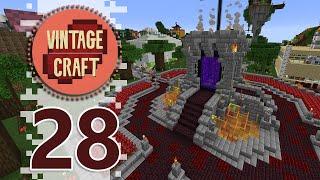 NEW SHOPPING DISTRICT! - Minecraft VintageCraft Season 2 - EP28