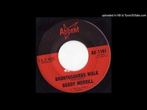 BUDDY MERRILL brontosaurus walk