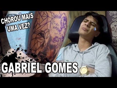 PRIMEIRA TATUAGEM DE VERDADE DO GABRIEL GOMES (JEFFERSON BASTOS)