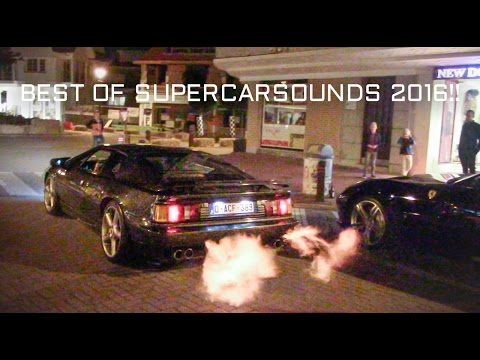 Best Of Supercars Sounds 2016!