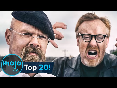 Top 20 Best Myths Tested on MythBusters