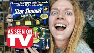 STAR SHOWER!- DOES THIS THING REALLY WORK?