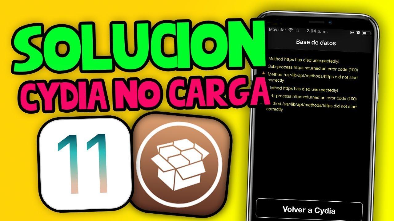SOLUCION `ERROR APT 7` DE CYDIA iOS 11 • 2018