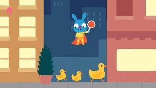 Обзор Игры Sago Mini Супергерой. Развлечения для детей
