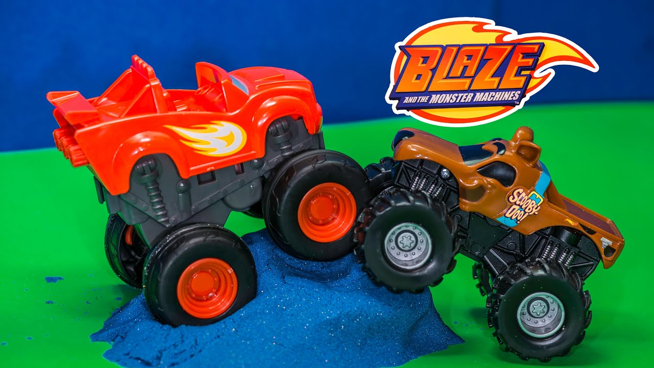 Unboxing The Blaze And The Monster Machines Slam N Go Monster Truck