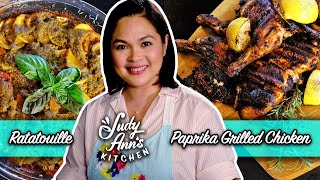 Ratatouille and Paprika Grilled Chicken | Judy Ann's Kitchen