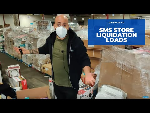 UNBOXING: SMS Stores Liquidation Loads