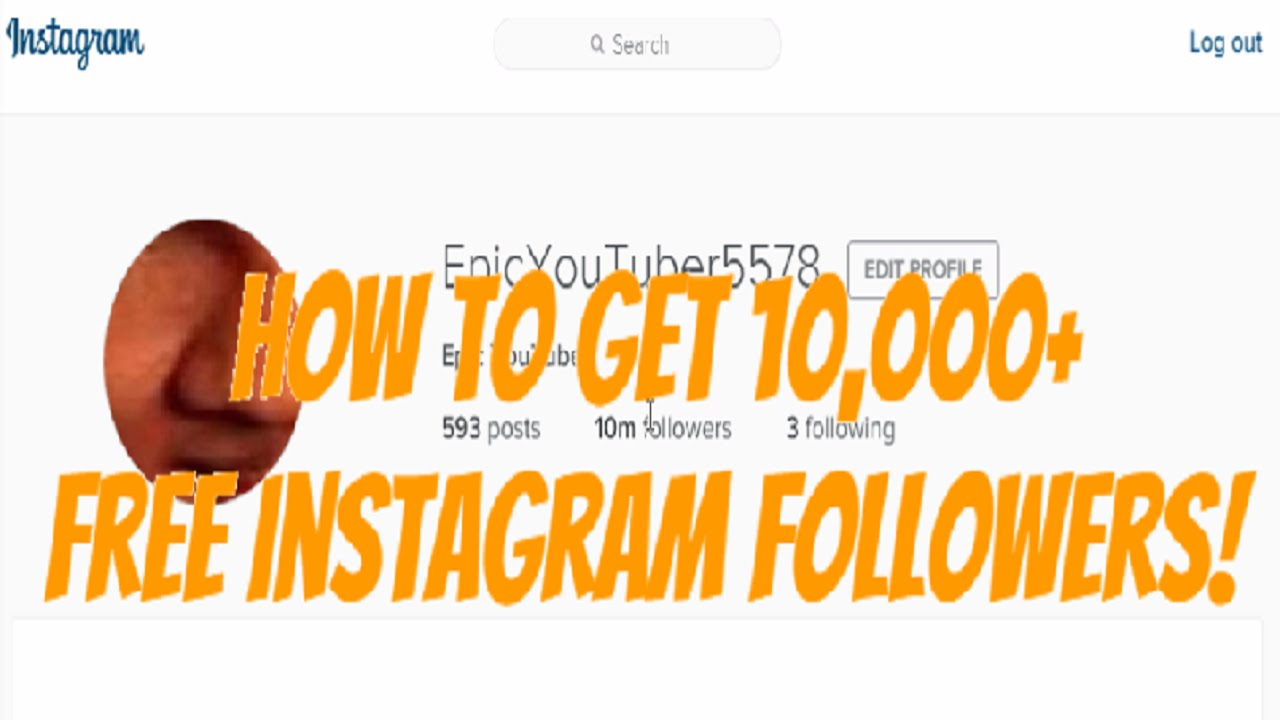 How To Get 10,000+ FREE Instagram Followers In One Minute! [WORKS 100%]