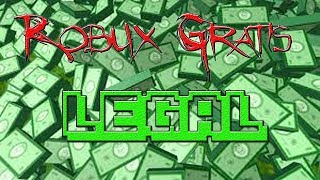 How to Get Robux Free Roblox 2019 [LEGAL]