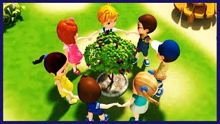 Here We Go Round The Mulberry Bush | 3D Rhymes & Songs for Children | Rhyme4Kids