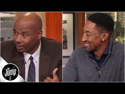 13-year NBA vet Quentin Richardson can barely believe hes sitting next to Scottie Pippen | The Jump