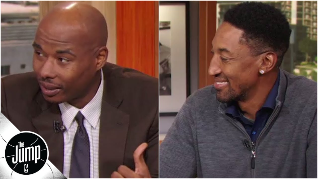 13-year NBA vet Quentin Richardson can barely believe he's sitting next to Scottie Pippen | The Jump
