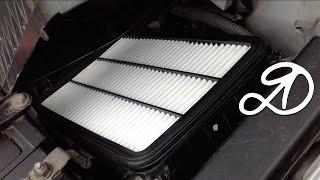 Как заменить воздушный фильтр своими руками на Toyota Camry Gracia