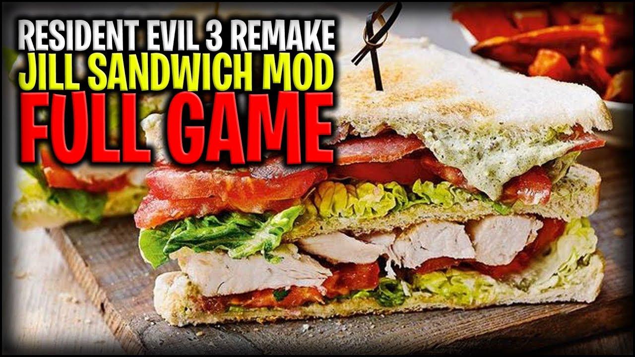 Resident Evil 3 Remake: Jill Sandwich Mod