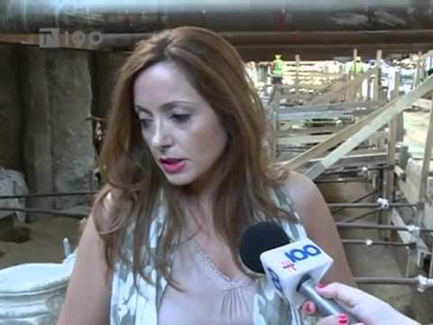 Excavations at Thessaloniki Metro - Macedonia, Greece.