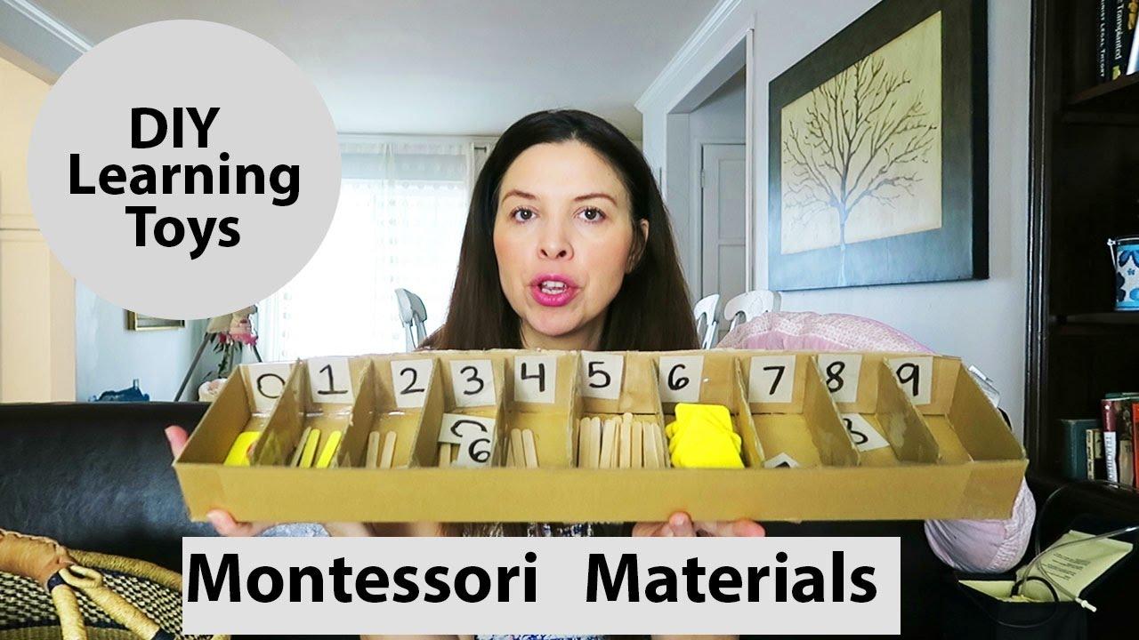 Montessori Materials Diy Learning Toys Montessori Math