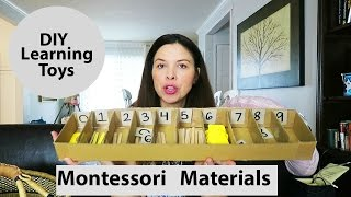 Montessori Materials - DIY Learning Toys - Montessori Math