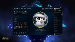 Crafting Jolly Penguin Icon League of Legends