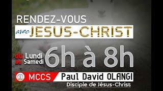 RENDEZ-VOUS AVEC JESUS-CHRIST, 6H00-8H00 DЏ SAMEDI 23 OCTOBRE 2021