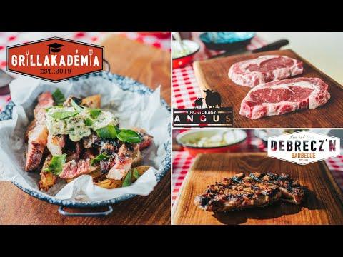 Steak Helyes Kiolvasztása (Hátszín - Ribeye) - Grillakadémia x Hortobágy Angus