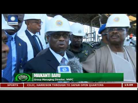 NNPC Commissions 1000 Metric Tonnes Depot In Ibadan