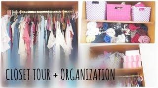 Closet Tour + Organization! Thumbnail