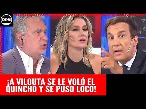 Paulo Vilouta en llamas cruzó a Noriega y mandó al frente al periodismo macrista